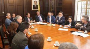 Reunión con Ministerio de Agricultura